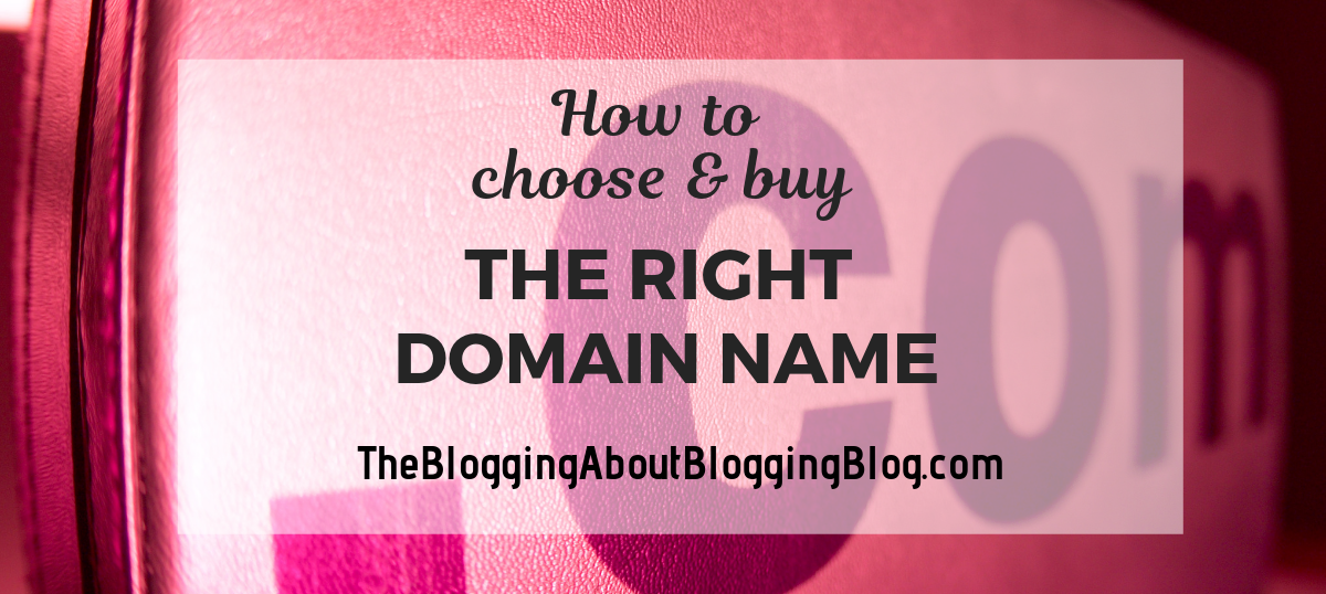 Tips for getting the name you want for your website.