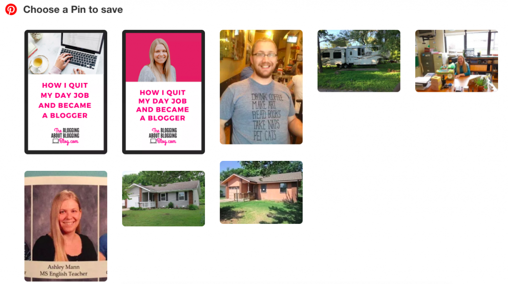 It's important to include Pinterest optimized images on every blog post.