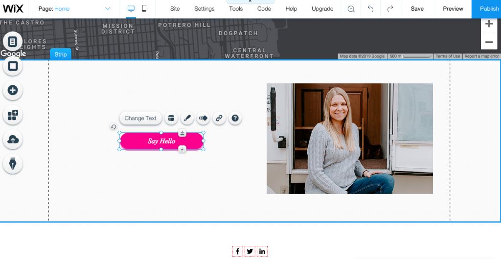 With Wix Editor you can design your website to look however you want.